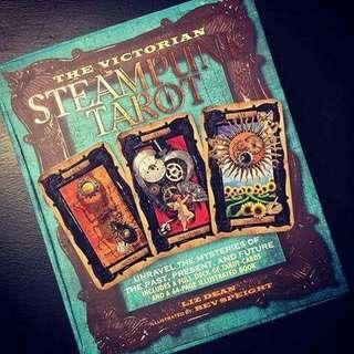 The Victorian Steampunk Tarot by Liz Dean