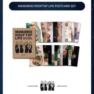 Mamamoo Rooftop Life Postcard Set