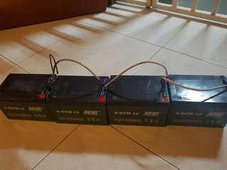 Selling Lead Acid Battery 6-DZM-12 (12v12ah)