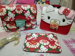 Tas furla hello kitty