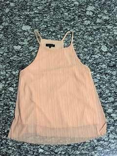 New look Dusty pink halter top