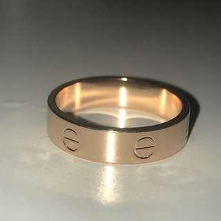 ⚜️Rose gold Cartier Love Ring ⚜️
