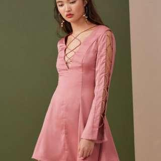 BNWT Finders Keepers Rose Mini Dress