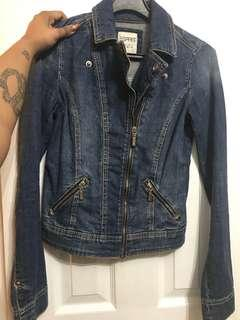 Vintage Wash Espirit Denim Jacket