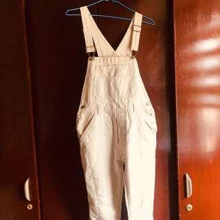 OLD NAVY khaki overalls
