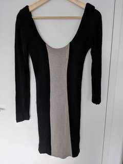 Kookai wool bodycon dress