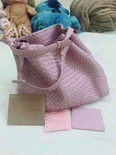🚚 Bv 紫色雙提把大包