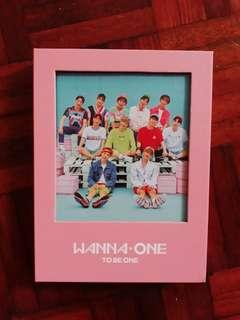 WANNA ONE 'TO BE ONE' (PINK VER)