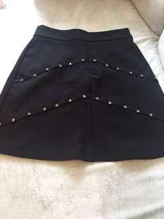 Zara ol office work skirt 番工西短裙