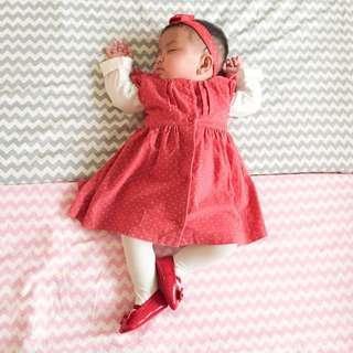 Preloved M&S Baby Dress
