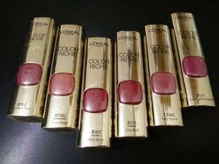 BNEW LOreal Paris Color Riche Le Rouge Ultra-Moisturizing Lipstick