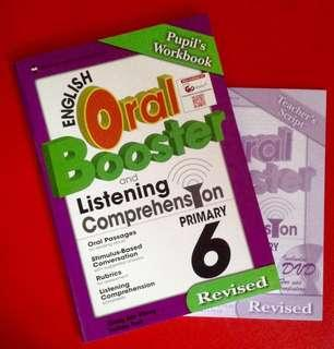 [NEW] English Oral Booster and Listening Comprehension Primary 6 with new DVD