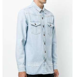 Off-White FW17 Denim Shirt