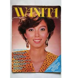 Majalah Vintage 80-an WANITA Januari 1986
