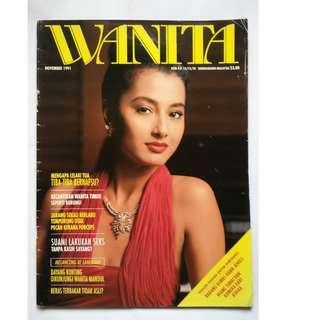 Majalah Vintage 90-an WANITA November 1991