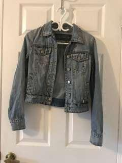 Talula denim jacket size XS