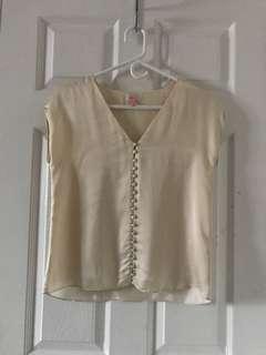 Silky Aritzia tshirt size XXS