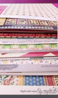 Scrapbook Patterned Papers