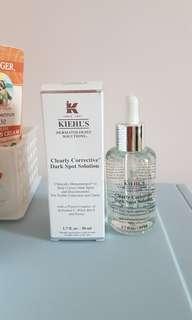 Kiehl' s Kiehl clearly corrective dark spot solution 美白精華
