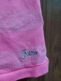 Preloved Pink Striped Shirt
