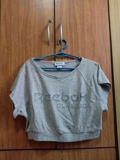 Preloved Reebok Cropped Shirt
