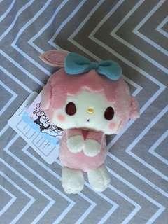 12cm My sweet Piano Melody Sanrio soft toy key chain