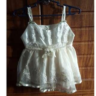 Classic baptismal dress for your baby girl