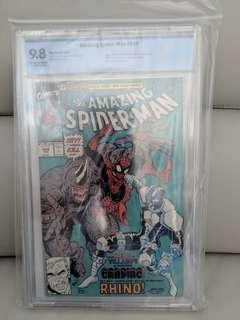 Amazing Spider-Man #344 CBCS 9.8 HOT BOOK!