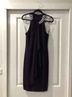 Scarlet Plum Dress
