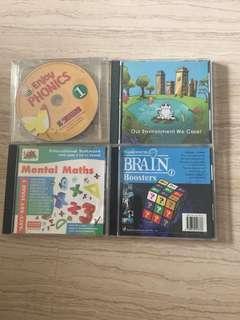 Educational CD ROMs all for $2
