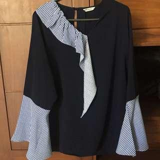 Blouse Ada Woman Black Stripe