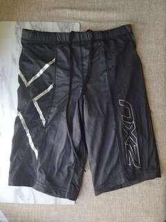 2xu women's compression shorts 壓力短褲 S size