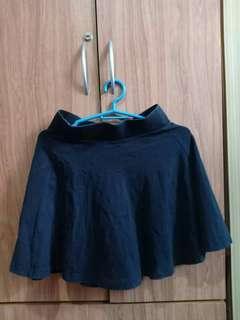 Preloved Divided Black Skirt