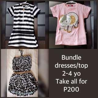 Bundle dresses/top