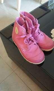 Palladium pink shoes