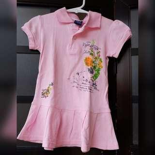 Polo dress for girls