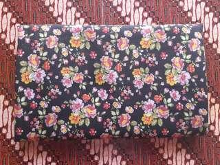 [NETT] Kerudung Katun Motif Bunga
