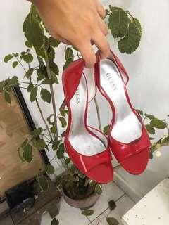 Guess Peep Toe Heels