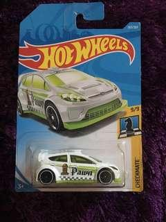FREE Hotwheels Ford Fiesta (Checkmate version)
