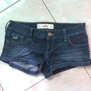Preloved Hollister Denim Shorts