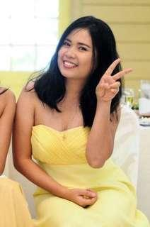 Yellow Short Gown