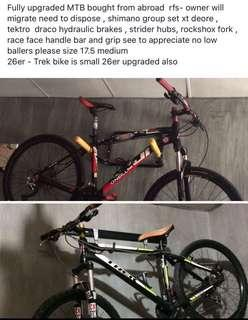 Buy 1 take 1 Mountain Bike hardtail Fuji and Trek