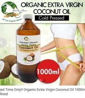 Extra Virgin coconut oil 1L