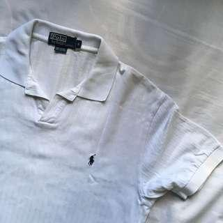Polo by Ralph Lauren White Stripes (S)