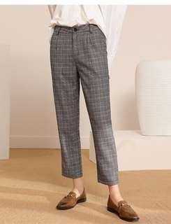 BNWT Plaid Trousers
