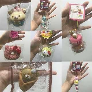 WTS Licensed Squishies