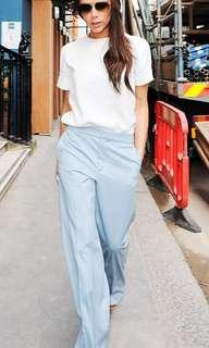 Monki babyblue wide pants