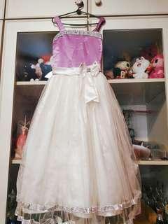 Purple sweet gown