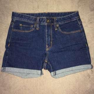 GU Highwaisted shorts