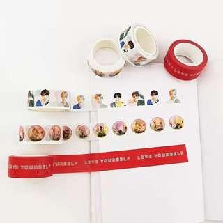 [PO] BTS Washi Tapes Love yourself